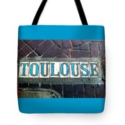 Toulouse Street Tote Bag