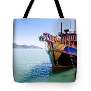 Tour Boat Tote Bag