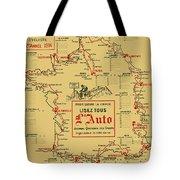 Tour De France 1914 Tote Bag