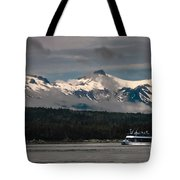 Touring Alaska Tote Bag