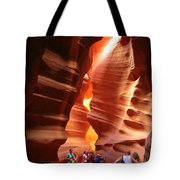 Touring Antelope Canyon Tote Bag