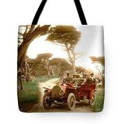 Royal Tourist Touring Car On The 17 Mile Drive Pebble Beach California Circa 1910 Tote Bag