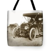 Touring Car On The Road California 1906 Tote Bag