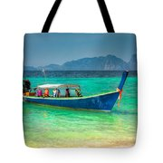 Tourist Longboat Tote Bag