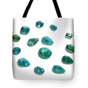 Tourmaline Paraiba Tote Bag