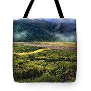 Toutle River Valley Tote Bag