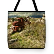 Tow Truck No Where To Go Tote Bag