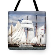 Toward The Finish Tote Bag