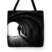 Towards The Light Tote Bag