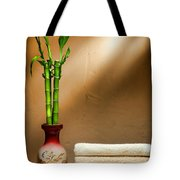 Towels And Bamboo Tote Bag