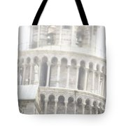 Tower And Fog Tote Bag