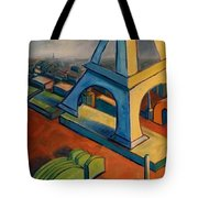 Tower And Toast Tote Bag