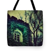 Tower And Trees Tote Bag
