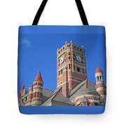 Tower And Turrets Tote Bag