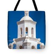 Tower At Mission San Xavier Del Bac Tote Bag