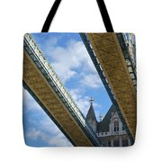 Tower Bridge Tote Bag by Christi Kraft