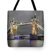 Tower Bridge Color Mix Tote Bag