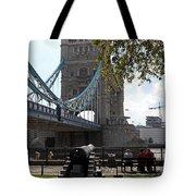 Tower Bridge In The City Of London Tote Bag
