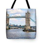 Tower Bridge Panorama Tote Bag
