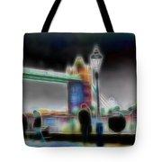 Tower Bridge Surrealism Tote Bag