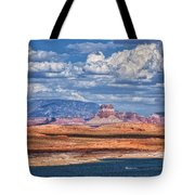 Tower Butte Tote Bag
