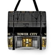 Tower City In Cleveland Ohio Tote Bag