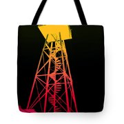 Tower Duty Alcatraz Tote Bag