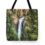 Tower Falls Yellowstone National Park Tote Bag