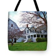 Tower Farm Washburn Maine Tote Bag