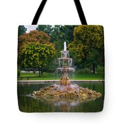 Tower Grove Fountain Tote Bag