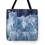 Tower In Margerie Glacier Tote Bag