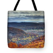 Tower In The Distance Tote Bag