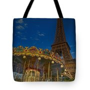 Carousel Tower Tote Bag