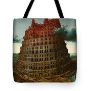 Tower Of Bable Tote Bag