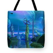 Tower Of Hurn Tote Bag