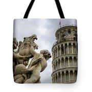 Tower Of Pisa Tote Bag