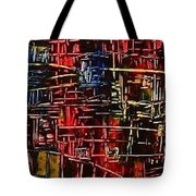Tower Of Sticks Tote Bag