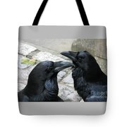 Tower Ravens Tote Bag