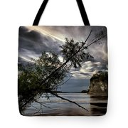 Tower Rock In The Mississippi River Tote Bag