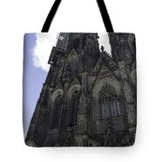 Tower Scaffolding Cologne Cathedral Tote Bag