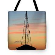 Tower Sunrise Tote Bag