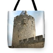 Tower Town Wall - Carcassonne Tote Bag