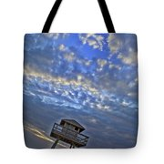 Tower View Tote Bag