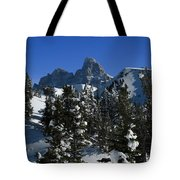 Towering Above Lies The Grand Tote Bag
