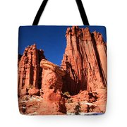 Towering Above The Hoodoo Tote Bag