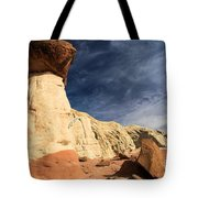 Towering Above The Landscape Tote Bag
