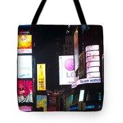 Towering Ads Tote Bag