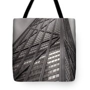 Towering John Handcock Building Tote Bag