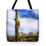 Towering Saguaro Tote Bag
