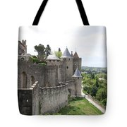 Towers And Townwall  - Carcassonne Tote Bag